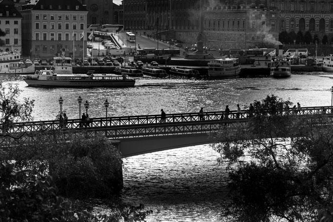 Skeppsholm Bridge, Stockholm, Sweden (2016)