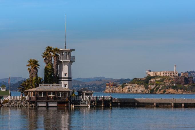 Forbes Island, Pier 41, Fishermans Wharf, San Francisco, California, USA (2013)