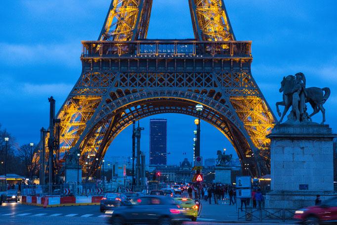 Eiffel Tower, Paris, France (2016)