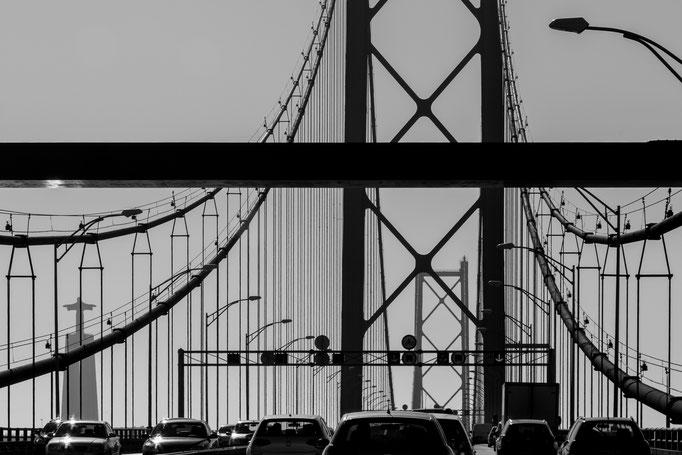 Ponte 25 de Abril, Lisbon, Portugal (2017)