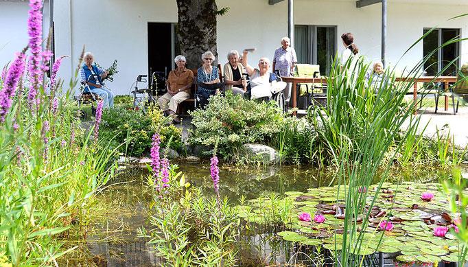 Unser Senioren Haus, Haus am Steinbach in Nußdorf