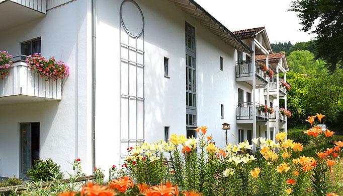 Alten- und Pflegeheim in Nußdorf, Haus am Steinbach - Seitenansicht
