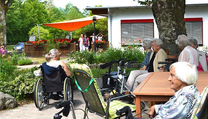 Senioren im Haus am Steinbach, Nußdorf am Inn