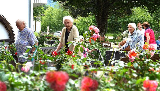 Das Seniorenheim Haus am Steinbach liegt im schönen Nußdorf am Inn