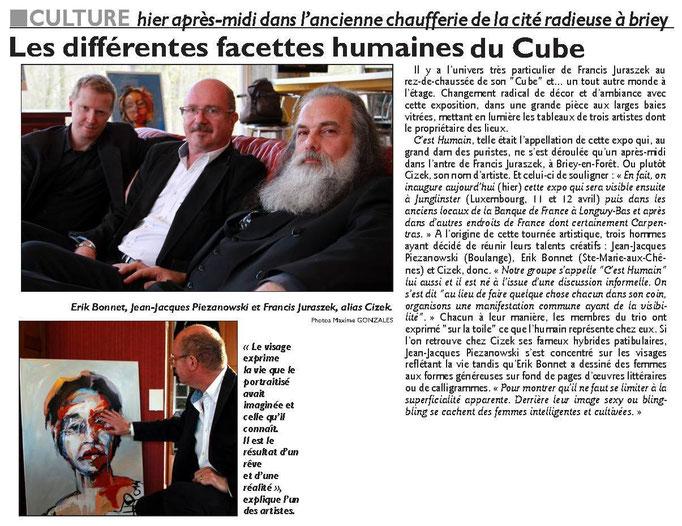article Républicain Lorrain, 6 mars 2015