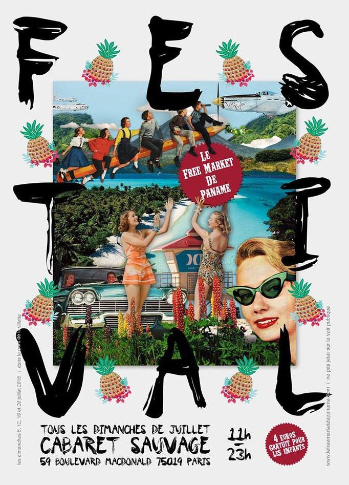 affiche expo Free Market Paris 2015