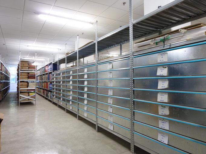 Archive mit Schubladen