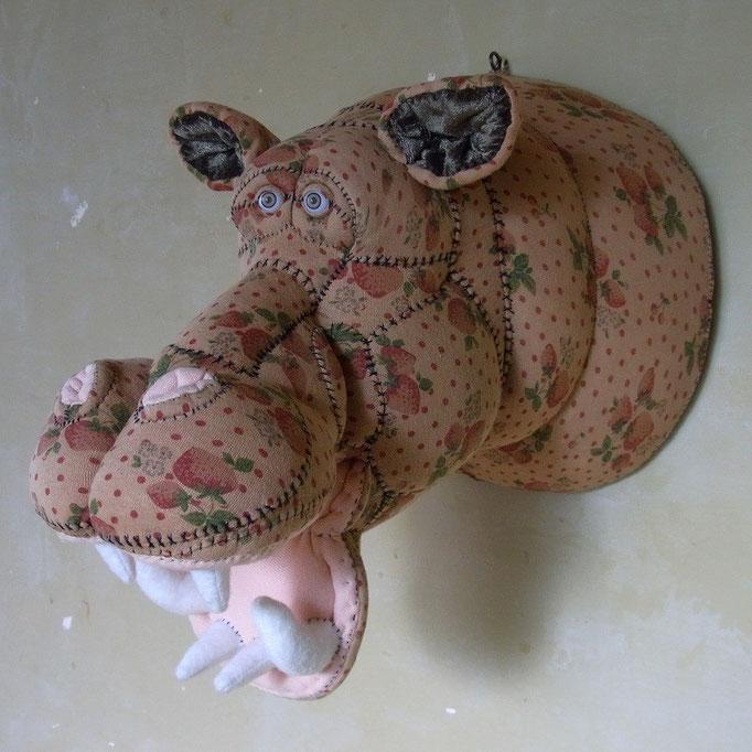 Hippopotamus(Wall hanging)