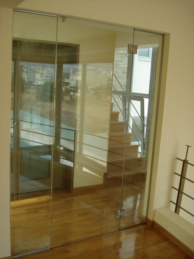 μπαλκονόπορτα διπλό τζάμι-πόρτα συρόμενη μπαλκονιού ενεργειακό γυαλί-ενεργειακό τζάμι