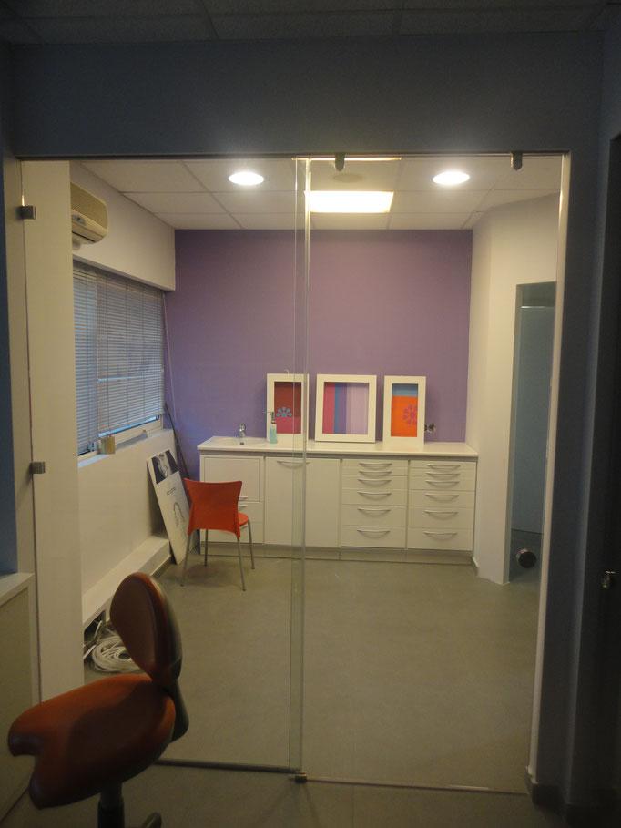 Πόρτα με τζάμι, πόρτα με τζάμι εσωτερική γραφείου ιορδανίδης αργυρούπολη