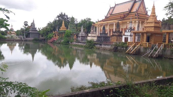 Bei unserer ersten Wandertour ein wenig außerhalb von Phnom Penh
