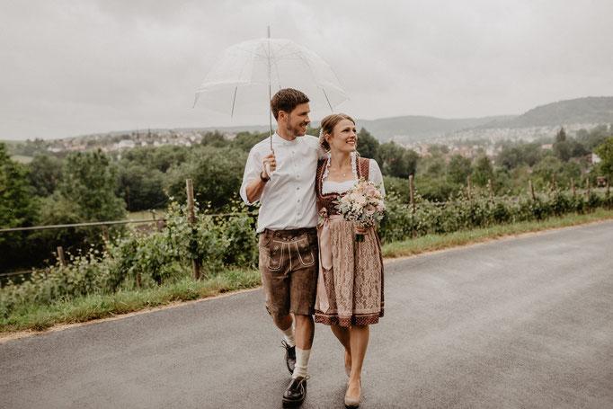 Hochzeitsfotos Weinberge Lauda