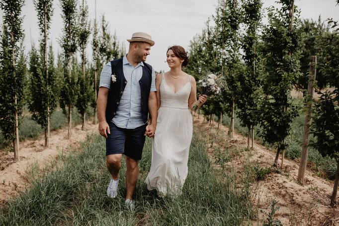 Hochzeitsfotos Baumschule Hundheim