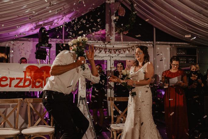 Hochzeitsfeier Beuchertsmühle