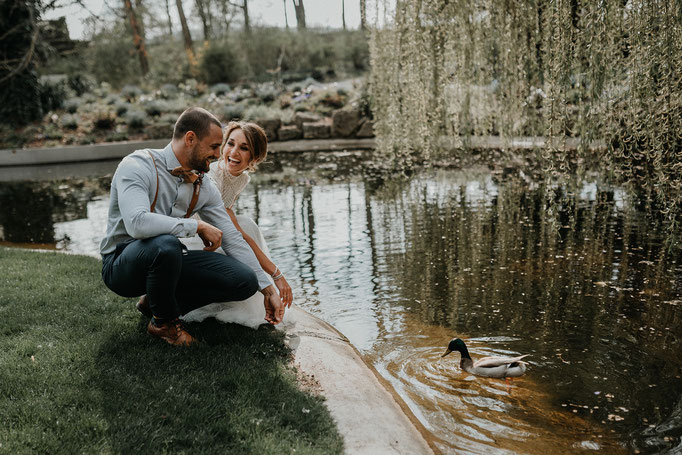 Hochzeitsfotos Ringpark Würzburg