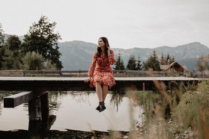 Fotografin Berge Österreich