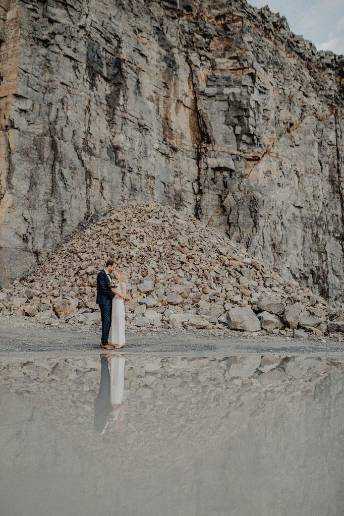 Steinbruch Hochzeit