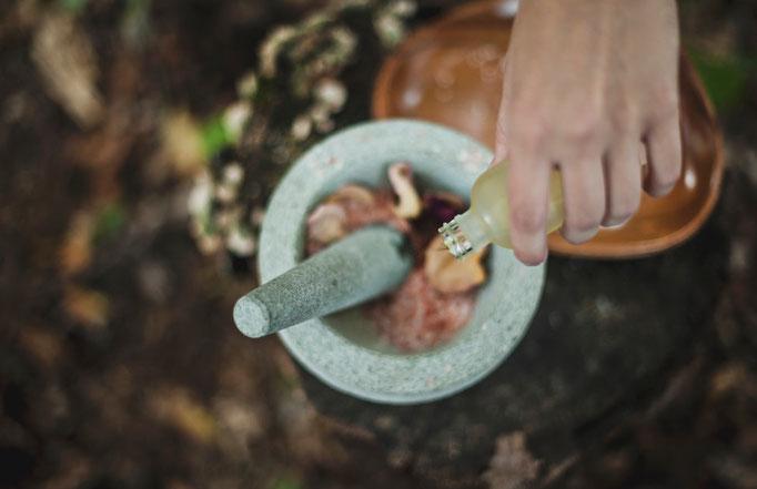 Mischungen aus einer Hand.