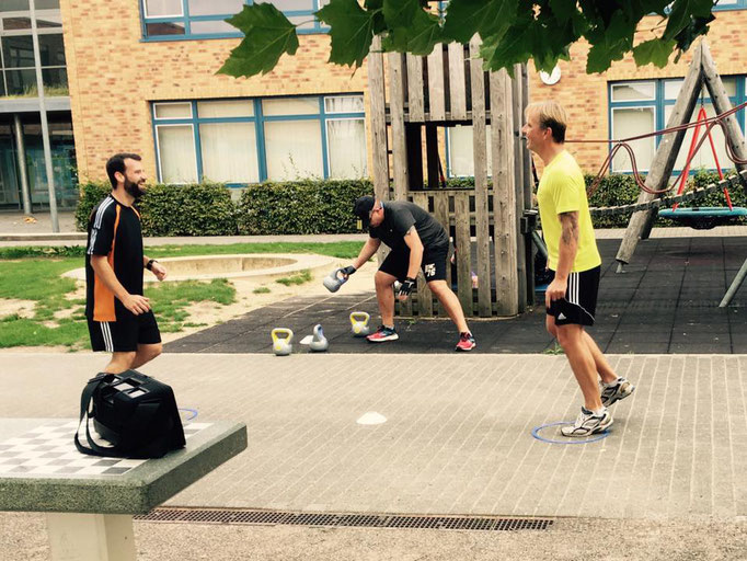 Training mit Kettlebells