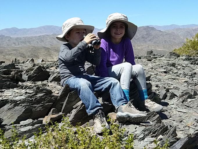 Cerro El Leoncito - Anis und Marilou