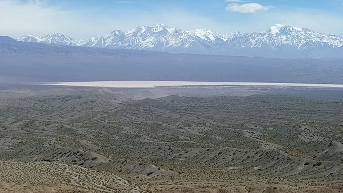 Cerro El Leoncito - Aussicht auf die Andenkette