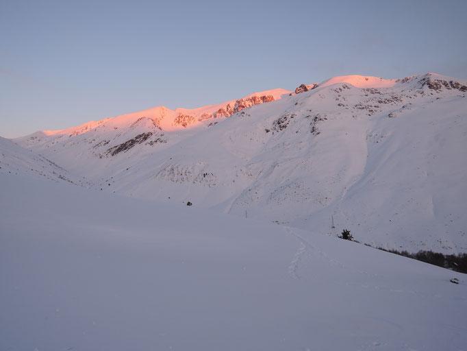 Lever du soleil sur le Solà d'Andorra