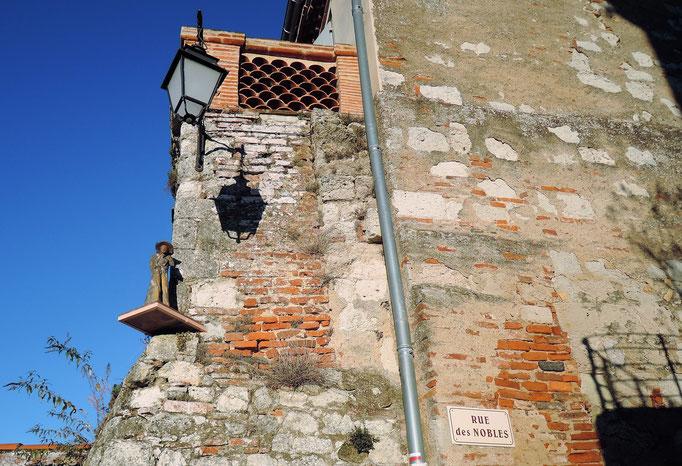 Auvillar, sur le chemin de Saint Jacques, la via podensis