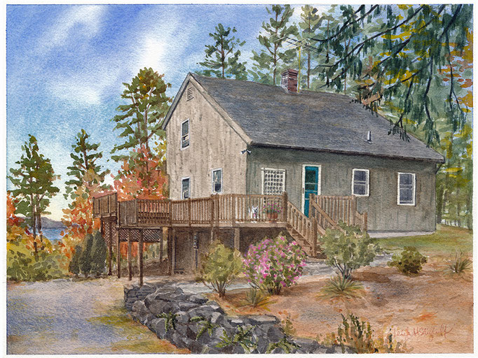 Sunapee, NH 9x12 commission