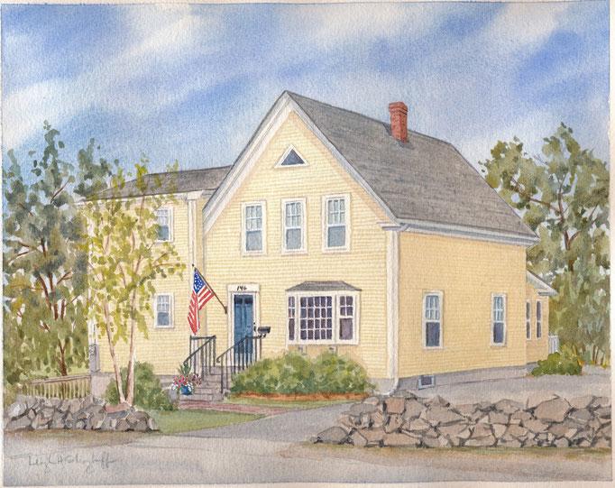 Rockport, MA, 8 x 10, commission