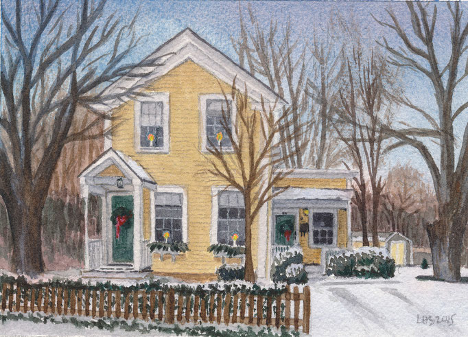 Massachusetts, 5 x 7, commission