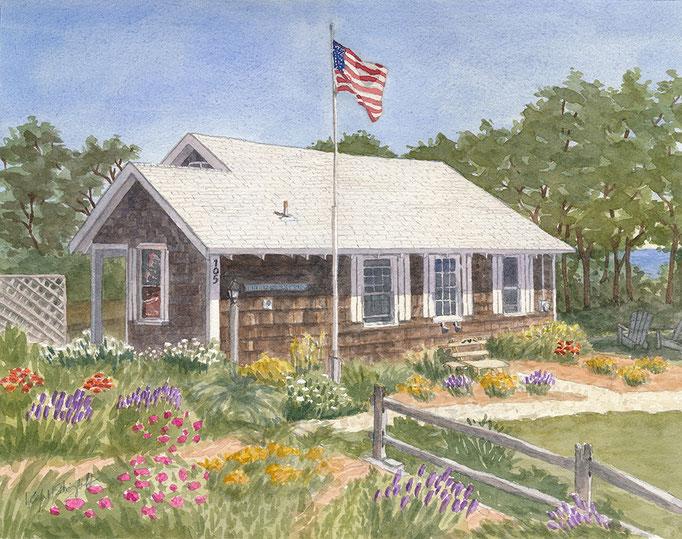 Cape Cod, 11 x 14, commission