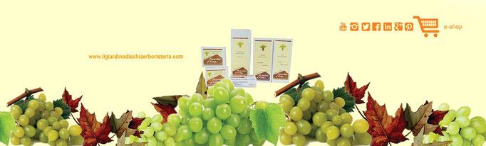 testata facebook prodotti all'uva