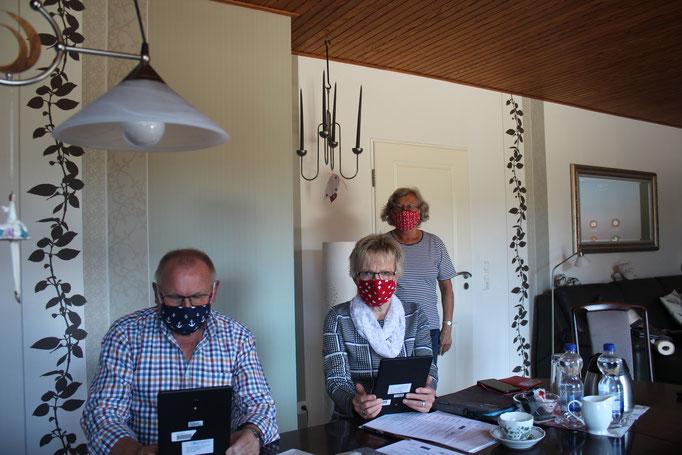 Heinz und Marlies Martin, Angela Glissmann