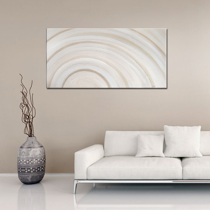 """Abstract Shell (VII)"" 40 x 80 cm - sold/verkauft"