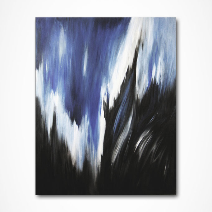 """Black Shadows""  100 x 80 cm - sold/verkauft"