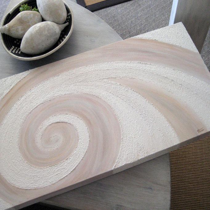 """Sandy Wave (XXIII)"" 40 x 80 cm - sold/verkauft"