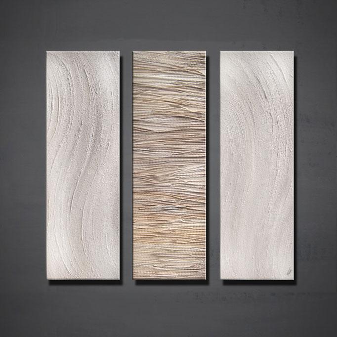 """Silence"" 120 x 90 cm (Triptych) - sold/verkauft"