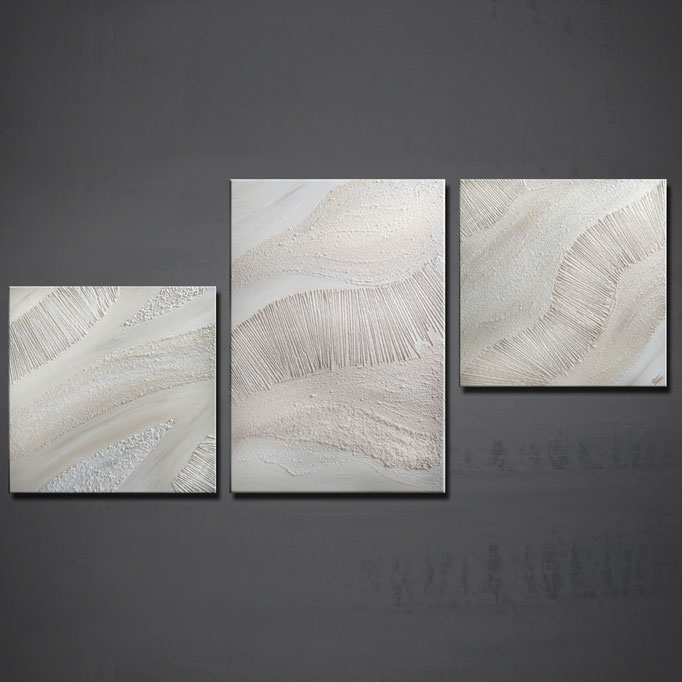 """KandoYa"" 60 x 120 cm (Triptych) - sold/verkauft"