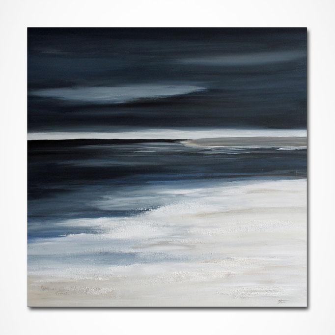 """North Sea Breeze"" 80 x 80 cm"