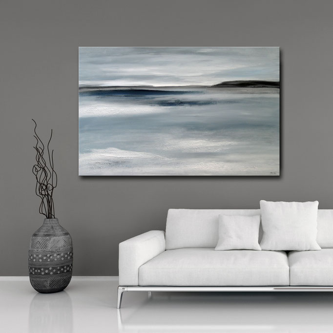 """Across the Sea""  60 x 90 cm - sold/verkauft"