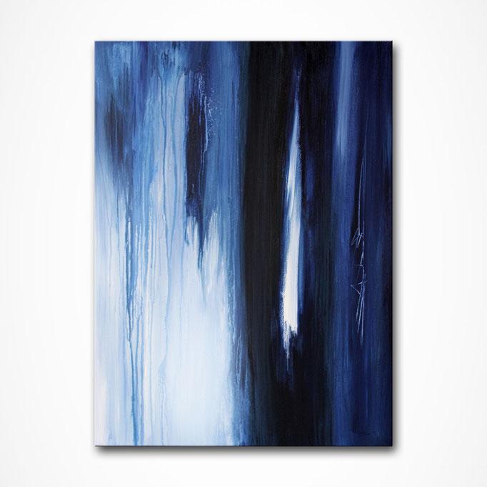 """""""Midnight Rain"""" 80 x 60 cm"""