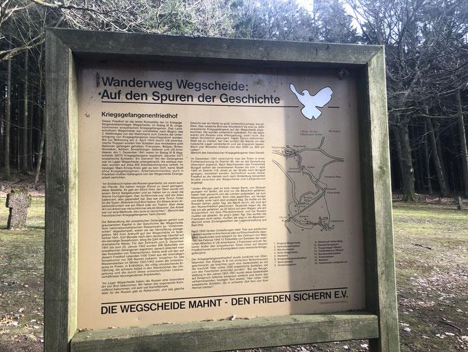 Kriegsgefangenenfriedhof Wegscheide - Bad Orb