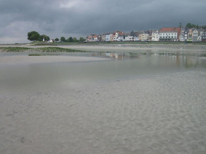 Traverser la Baie de Somme avec votre guide+ St Valery sur Somme