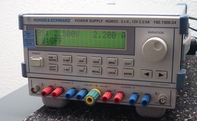 Rohde & Schwarz Netzteil NGMO 2