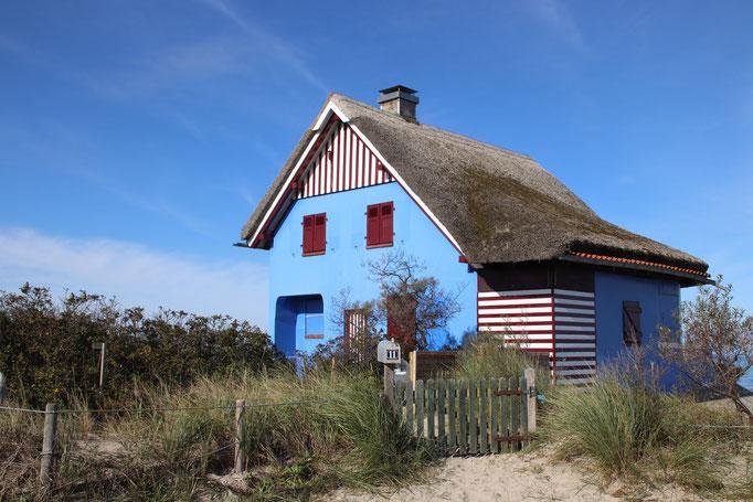 """Das """"Blaue Haus"""" am Graswarder"""