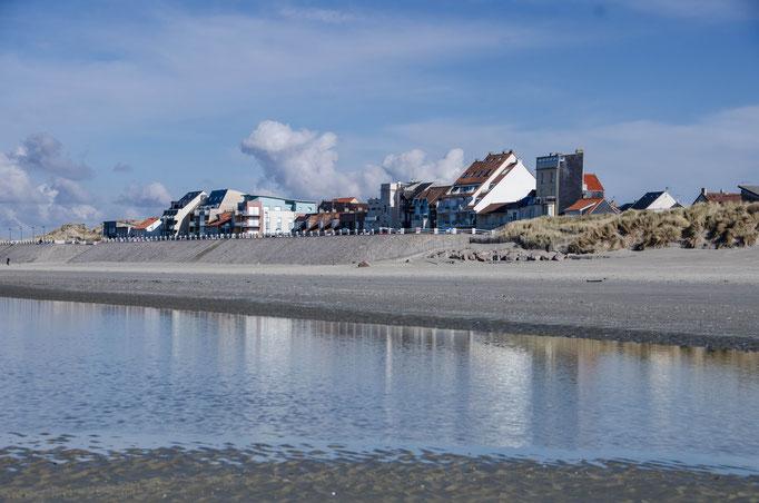 Petite station balnéaire avec son immense plage jusque la Baie de Somme Nord