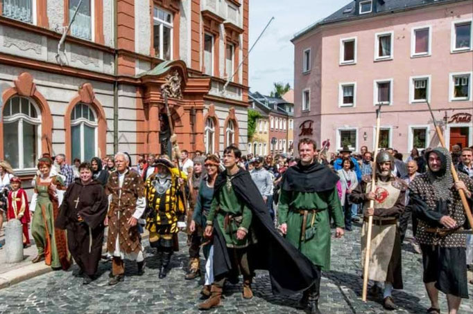 Hussitenführung -auf dem Weg zum Kloster
