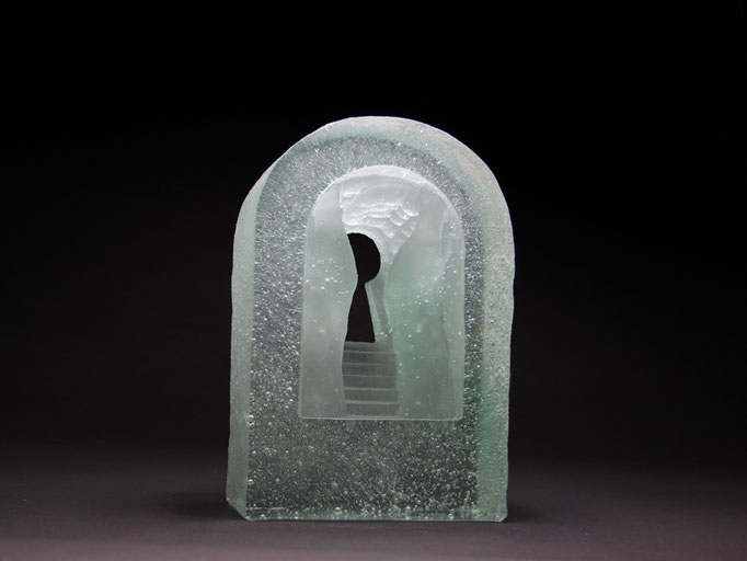 Porta transitus III, 31 x 21 x 11 cm