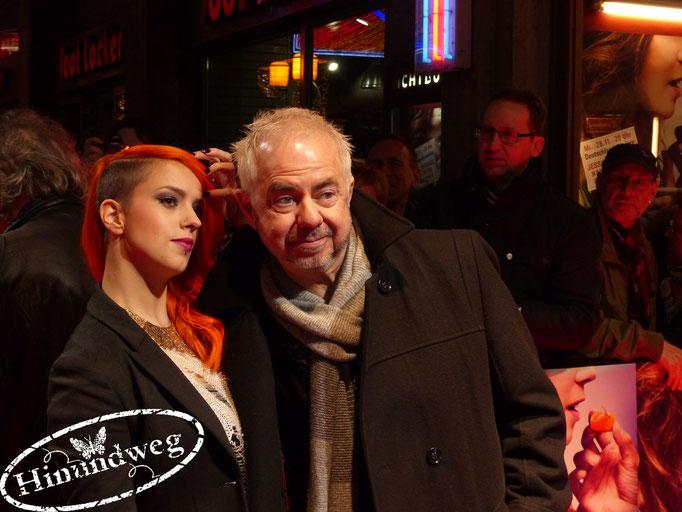 Jana Naima Zerlett zusammen mit Helmut Zerlett