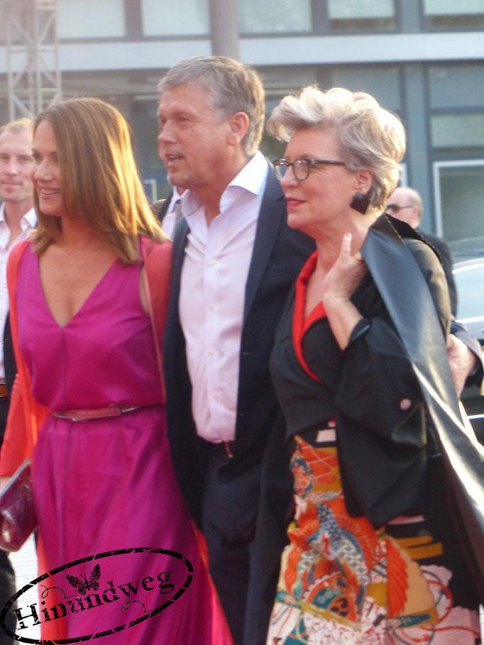 Peggy Lukac, Jenny Juergens und Klaus Zmorek